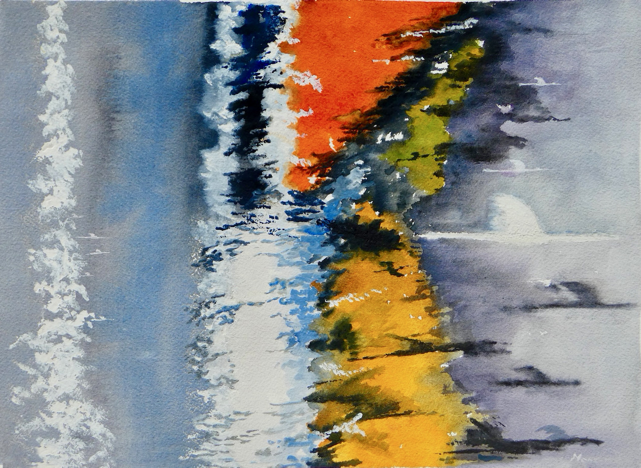 Mense Selles - Abstract De gang van het leven